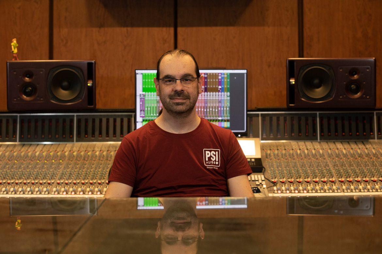 Caco Refojo,  Ingeniero de Sonido