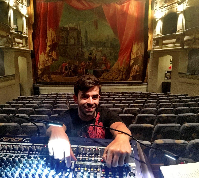 David Juárez Armentia, Técnico de Sonido