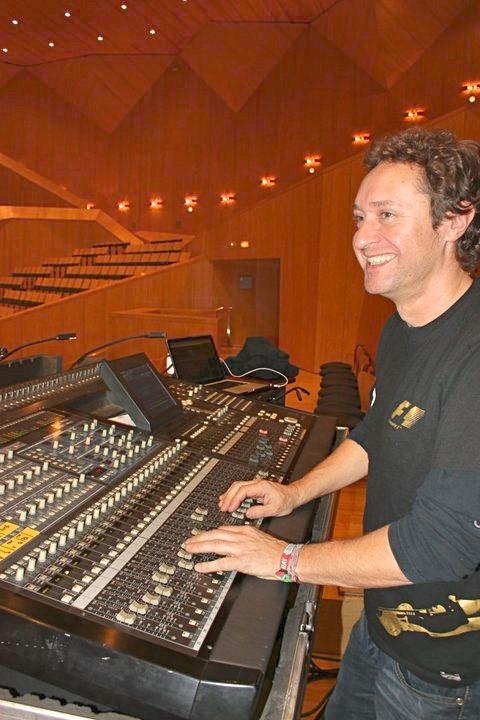 Juan Alegría Ingeniero de Sonido