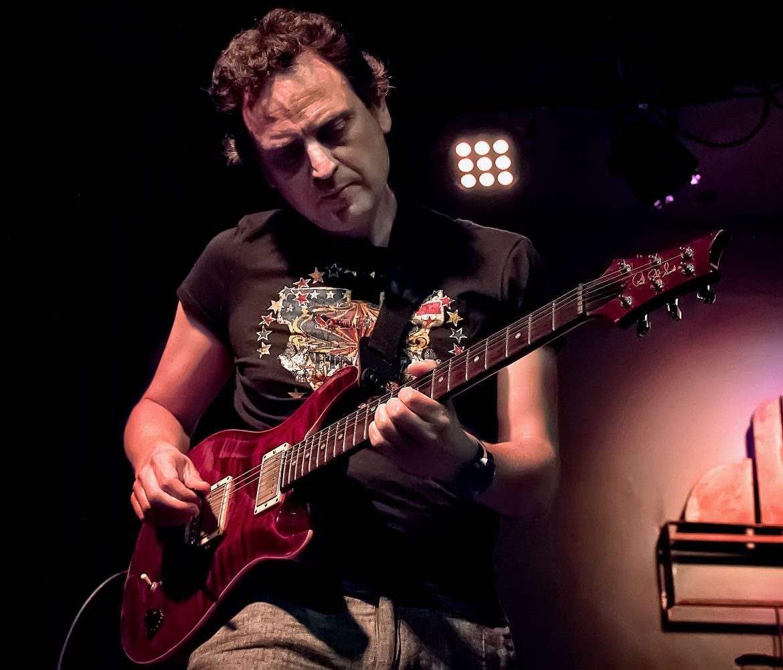 Pedro Palomar, Guitarrista