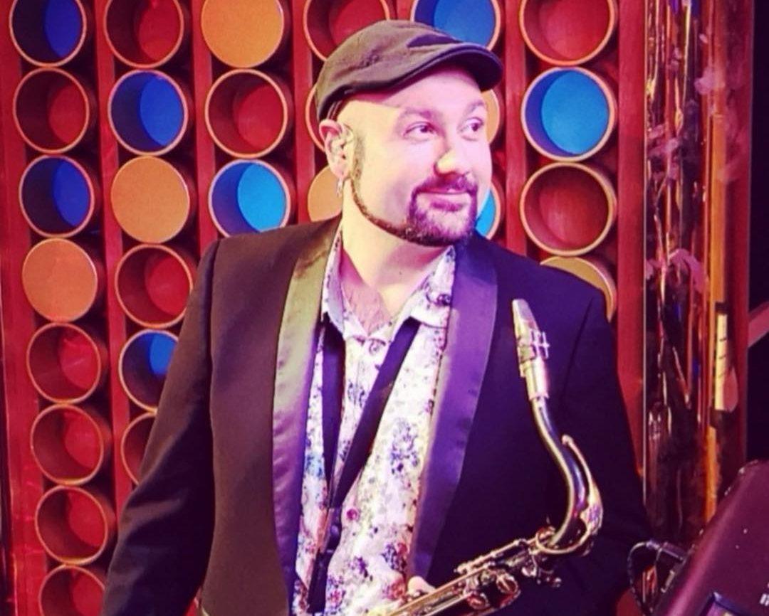 Dani Herrero, Saxofonista