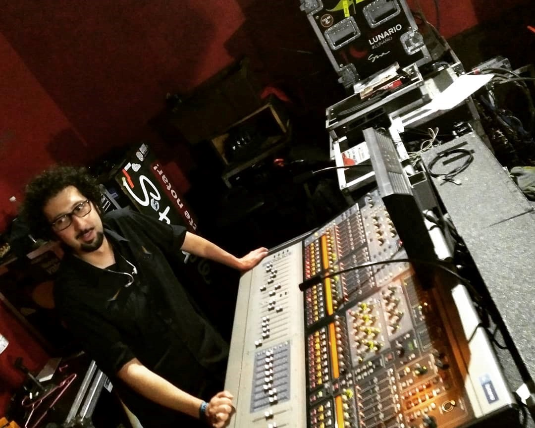 Rubén Giganto, Ingeniero de Sonido