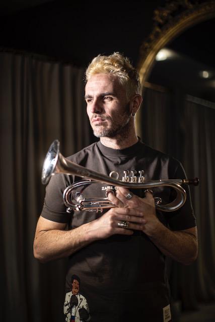 Tony Molina,  trompetista y trombonista