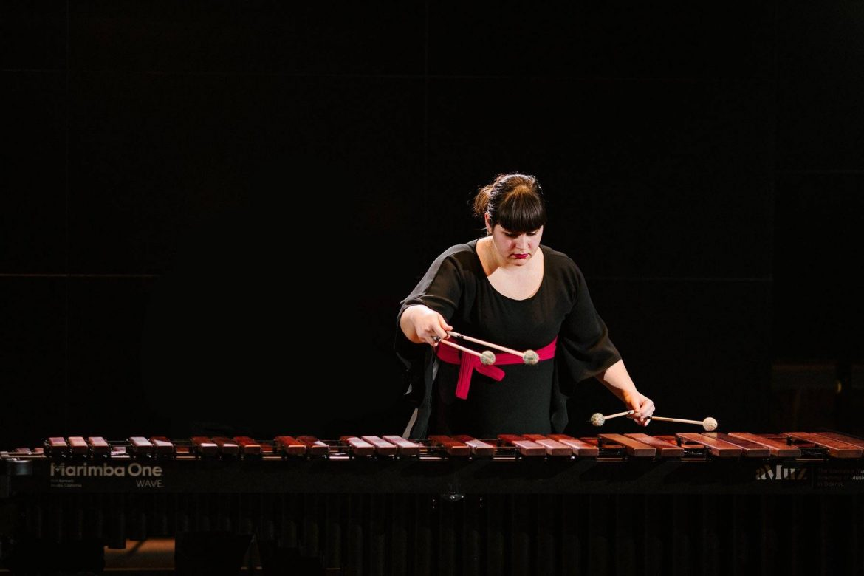 Virginia Alcarria, Marimbista