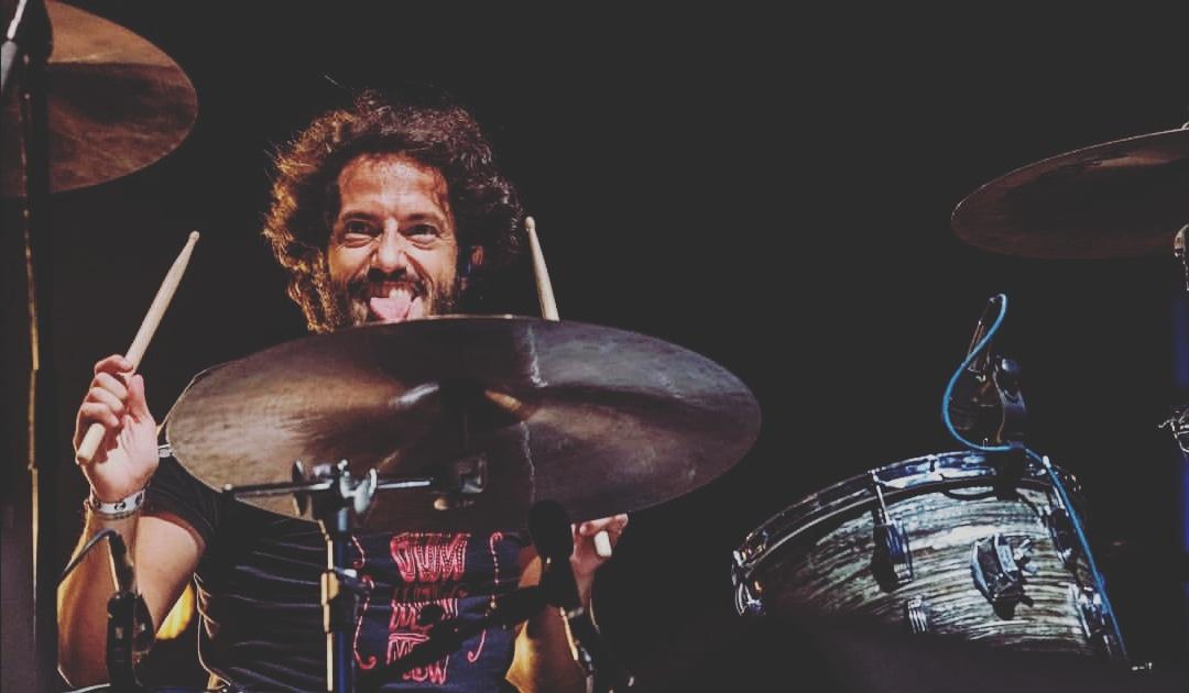 Coki Giménez, batería