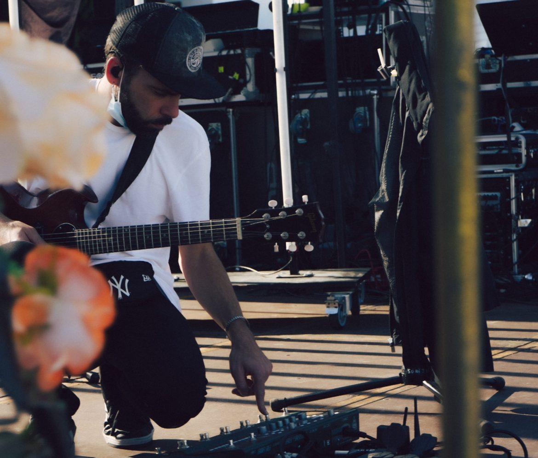 Richie Palacín, guitarrista y productor