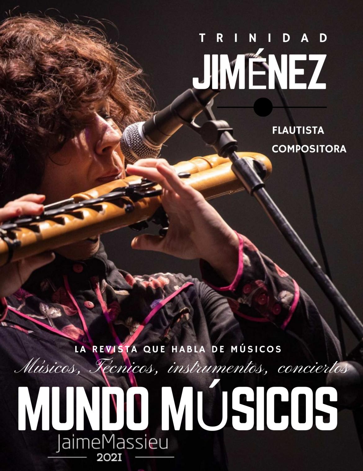 Trinidad Jiménez, flautista y compositora